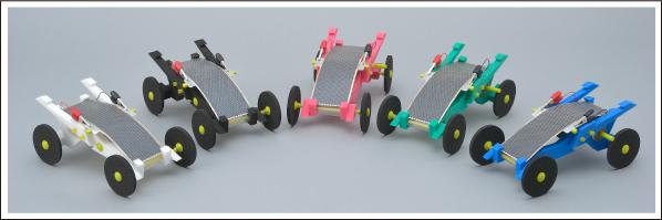 ソーラーモーターカーの画像